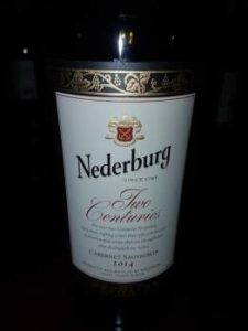 Nederburg Two Centuries 2014
