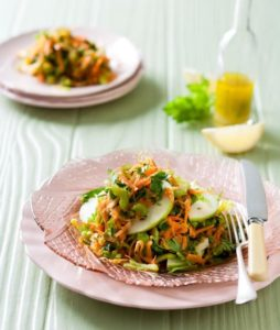 Carrot, Apple and Celery Salad