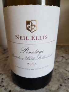 Neil Ellis Bottelary Hills PInotage 2015