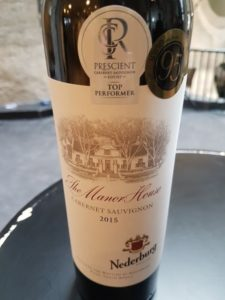 Nederburg The Manor House Cabernet Sauvignon 2015