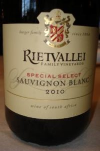 Rietvallei Special Select 2010