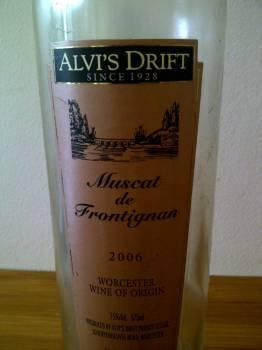 Alvi's Drift Muscat de Frontignan 2006, Alvi's Drift Muscat de Frontignan 2006