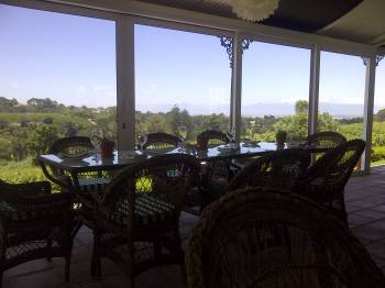 Constantia Glen tasting room.