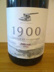 Spioenkop 1900 Pinotage 2012