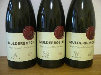Mulderbosch single vineyard chenin blanc