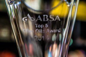 Absa Top 5 Olive Oil Awards 2014
