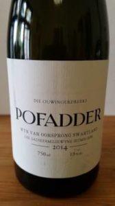 The Old Vine Series Pofadder 2014