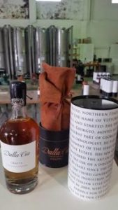 Dalla Cia 10 Year Celebration Grappa