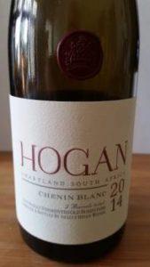 Hogan Chenin Blanc 2014