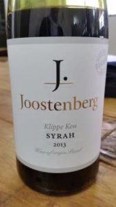 Joostenberg Klippe Kou Syrah 2013