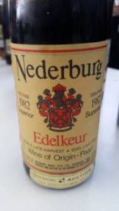 Nederburg Edelkeur 1982