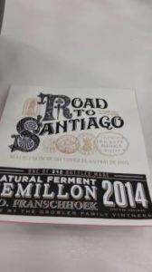 Road to Santiago Semillon 2014, Road to Santiago Semillon 2014