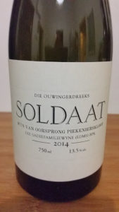 The Old Vine Series Soldaat 2014