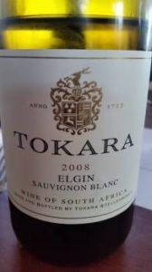 Tokara Elgin Sauvignon Blanc 2008