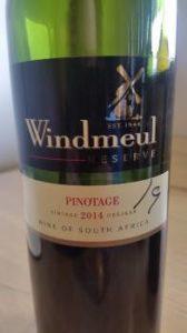 Windmeul Pinotage Reserve 2014