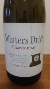 Winters Drift Chardonnay 2014