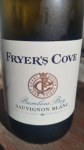 Fryer's Cove Bamboes Bay Sauvingon Blanc 2014, Fryer's Cove Bamboes Bay Sauvingon Blanc 2014