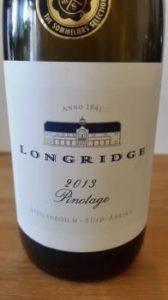 Longridge Pinotage 2013