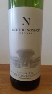 NNeethlingshof Malbec 2013
