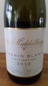 SAAM The Middelburg Chenin Blanc 2013