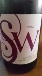 Trizanne Signature Wines Syrah Grenache 2014