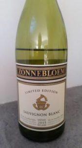Zonnebloem Limited Edition Sauvignon Blanc 2015