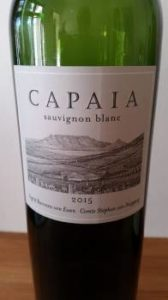 Capaia Sauvignon Blanc 2015