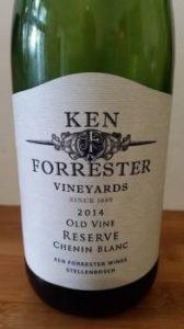 Ken Forrester Old Vine Reserve Chenin Blanc 2014