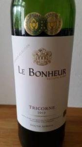 Le Bonheur Tricorne 2012