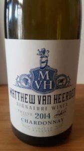 Matthew van Heerden Signature Chardonnay 2014