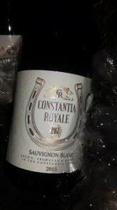 Constantia Royale Sauvignon Blanc 2015