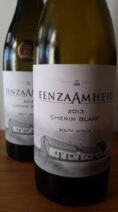 Eenzaamheid Chenin Blanc 2012 vs 2013