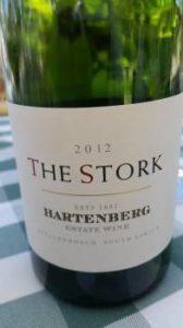 Hartenberg The Stork Shiraz 2012