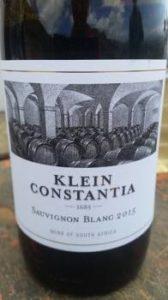 Klein Constantia Sauvingon Blanc 2015