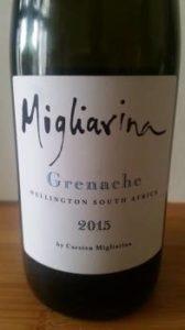 Migliarina Grenache 2015