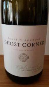 David Nieuwoudt Ghost Corner Sauvignon Blanc 2014
