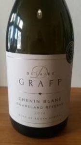 Delaire Graff Chenin Blanc Swartland Reserve 2014