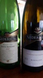 Nederburg Rhine Riesling 2007 vs Nederburg Riesling 2011