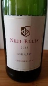 Neil Ellis Groenekloof Shiraz 2013