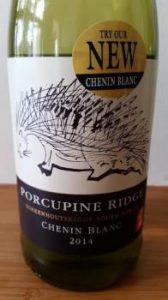 Porcupine Ridge Chenin Blanc 2014