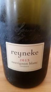 Reyneke Sauvignon Blanc 2015