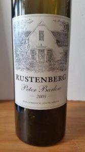 Rustenberg Peter Barlow 2005