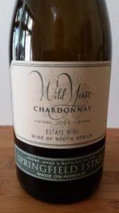 Springfield Wild Yeast Chardonnay 2014