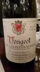 Alain Hudelot Noellat Vougeot 1er Cru Petits Vougeot 2013