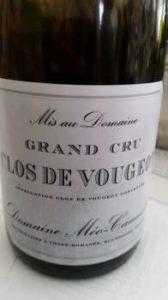 Domaine Meo-Camuzet Clos de Vougeot Grand Cru 2011