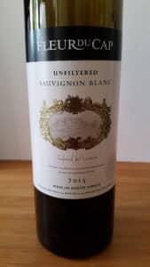 Fleur du Cap Unfiltered Sauvignon Blanc 2015