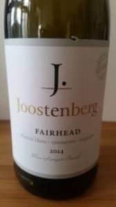 Joostenberg Fairhead 2014