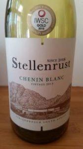 Stellenrust Chenin Blanc 2015