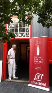 Wine Label Design Awards entrance