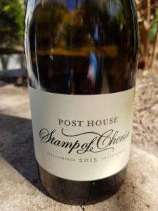 Post House Stamp of Chenin 2015